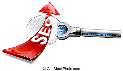 SEO Magnifying Glass