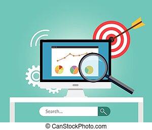 seo, moteur, recherche, optimization