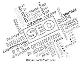 seo, -, optimisation moteur recherche