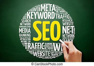 seo, -, optimización de buscador