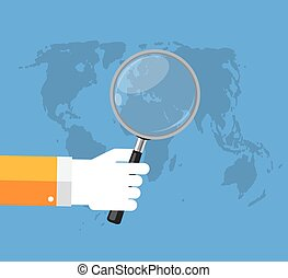 seo, optimization, analytics, apartamento, conceito, vetorial, ilustração