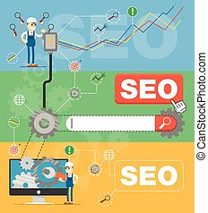 SEO optimization infographic