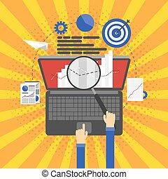 SEO optimization, programming and web analytics