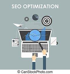 SEO optimization, programming process