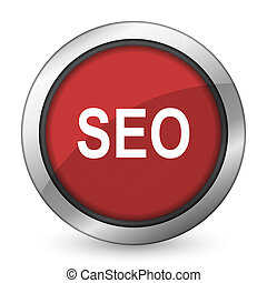 seo red icon