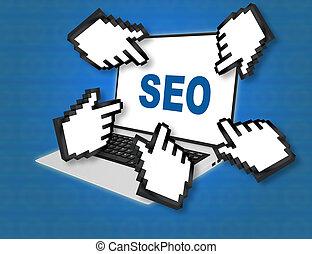 SEO - search concept