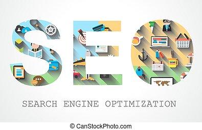 SEO Search engine optimization concept