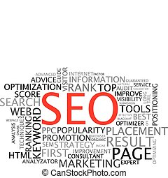 SEO - Search Engine Optimization poster