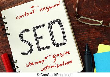 seo, (search, moteur, optimization)