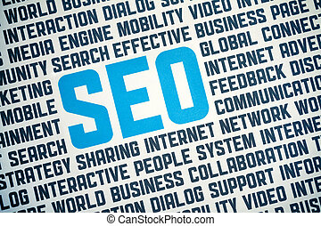 SEO Sign Poster