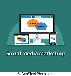 SEO Social media marketing