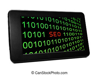 seo, texte, pc tablette