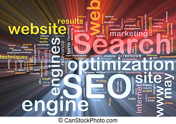 SEO word cloud box package - Software package box Word cloud...