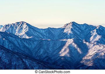 Seoraksan mountains in Korea