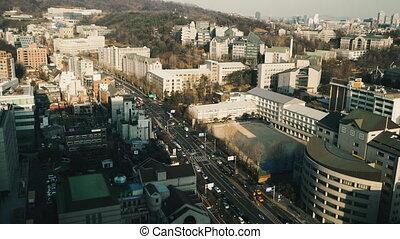 Seoul Architecture of South Korea, Seoul city.