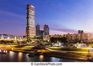 Seoul city in South of Korea