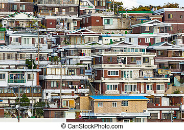 Seoul residential area