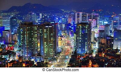 Seoul - Downtown Seoul, South Korea