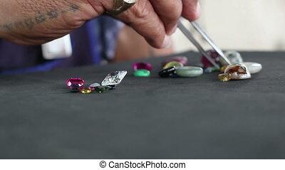 Separation Gemstones and diamond