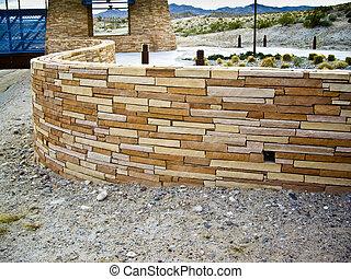 Sepentine Wall