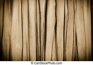 Sephia background made of cane