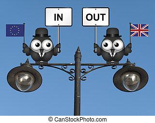 Sepia European Union Referendum