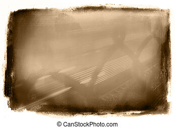 Sepia Grunge - Abstract Grunge Background