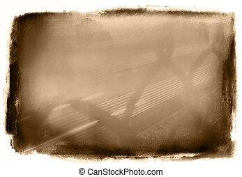 Sepia Grunge - Abstract Grunge Background