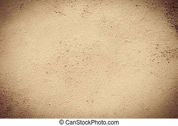 sepia, grunge, achtergrond, muur