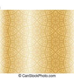 Sepia starshaped seamless arabesque - Seamless pattern...