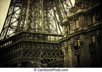 Sepia Tour Eiffel