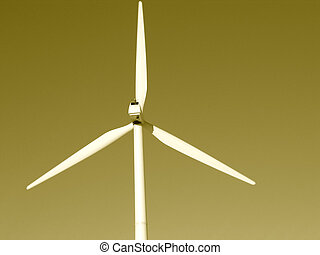 Sepia Wind Power