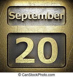 september 20 golden sign