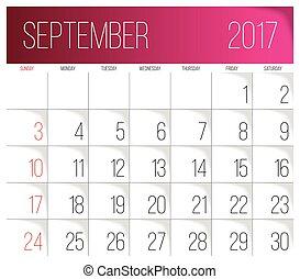 editable september 2017 calendar