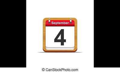 September calendar.