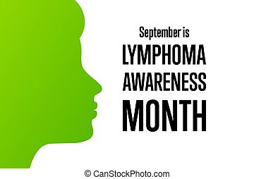 September is Lymphoma Awareness Month. Template for ...
