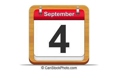 September. - September calendar.