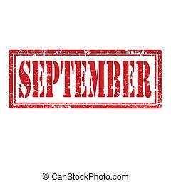 september-stamp