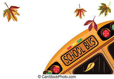 septembre, école, dos