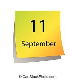 septembre, eleventh