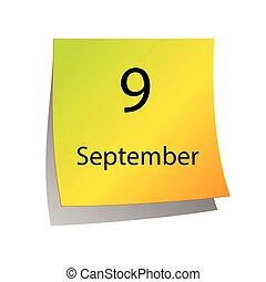 septembre, neuvième