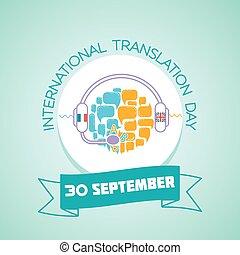 septiembre, internacional, traducción, 30, día