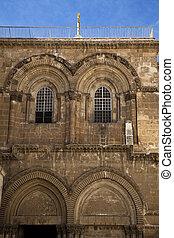 sepulchre, entrada, santissimo, igreja