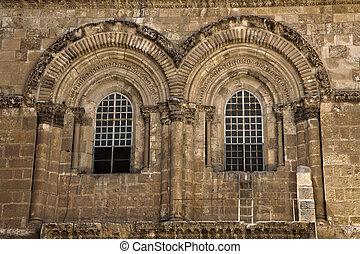 sepulchre, fachada, santissimo, igreja