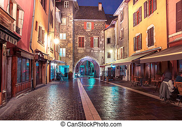 Sepulchre Gate in Old Town of Annecy, France - Gorgeous...
