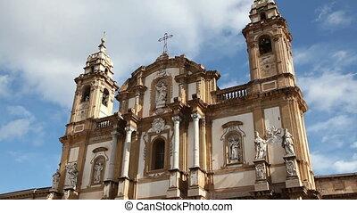sequence of san domenico church