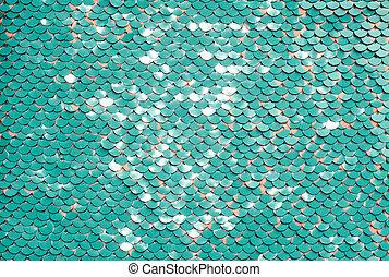 Sequin fabric background