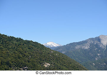 Sequoia National Park mountain landscape, California, USA