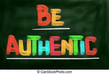 ser, conceito, autêntico