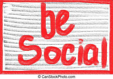 ser, conceito, social